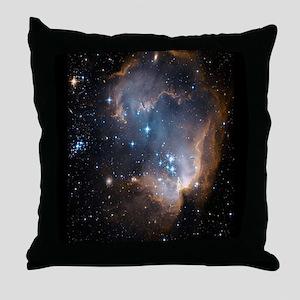 Sleeping Angel Star Cluster Throw Pillow