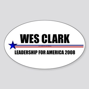 """General Leadership"" Oval Sticker"