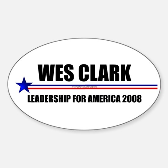 """General Leadership"" Oval Stickers"