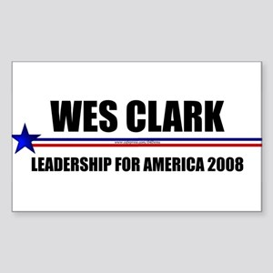 """General Leadership"" Rectangle Sticker"