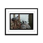 Turtle Time - Digital Photography Framed Panel Pri