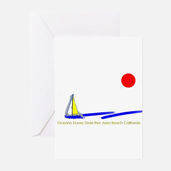 Oceano Dunes Greeting Cards (Pk of 10)