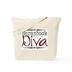 Scrapbook Diva2 Tote Bag