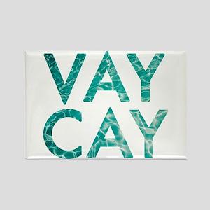 vaycay Rectangle Magnet