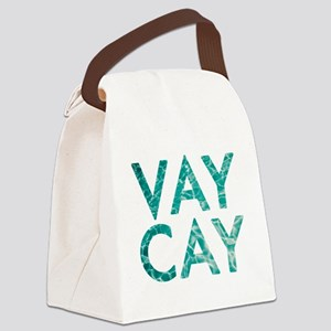vaycay Canvas Lunch Bag