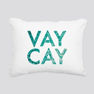vaycay Rectangular Canvas Pillow