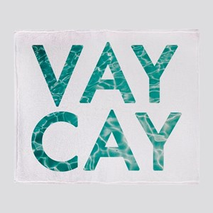 vaycay Throw Blanket