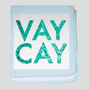 vaycay baby blanket