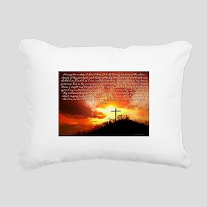 Morning Prayer Rectangular Canvas Pillow