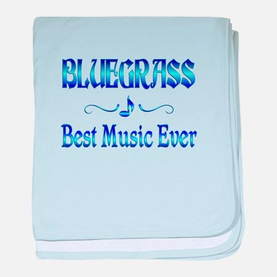 Bluegrass Best Music baby blanket