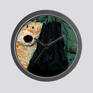 Military Missing You Already - Wall Clock