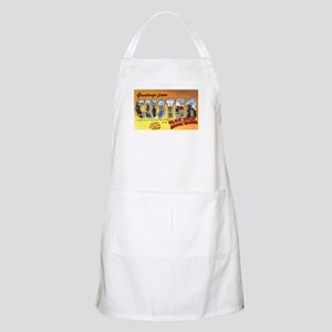 Custer South Dakota Greetings BBQ Apron