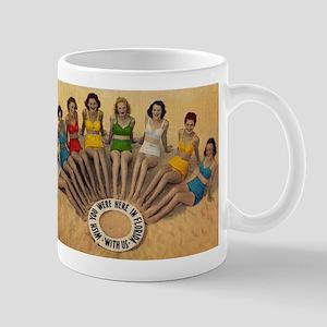 Retro Beach Beauties Mug