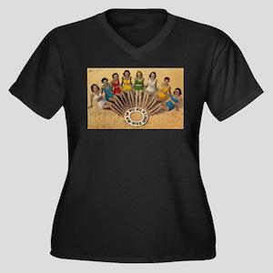 Retro Beach Beauties Plus Size T-Shirt