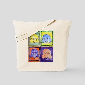 Oodles of Poodles Tote Bag