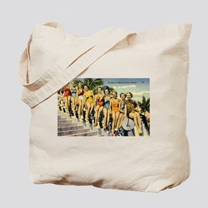 Retro Summer Beauties Tote Bag