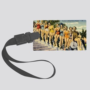 Retro Summer Beauties Luggage Tag