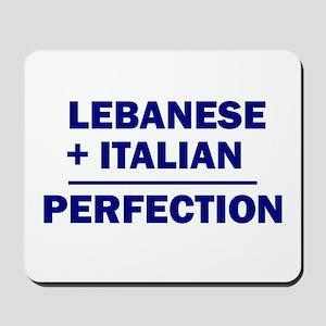 Lebanese + Italian Mousepad