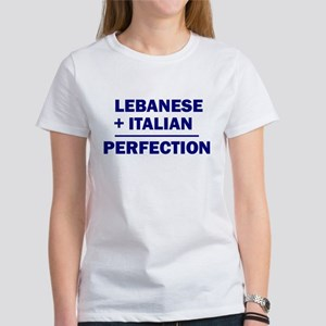 Lebanese + Italian Women's T-Shirt
