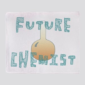 Future Chemist Throw Blanket