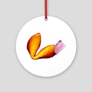 Fortune Cookie Ornament (Round)