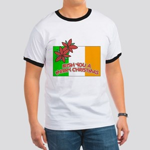 Irish Christmas Ringer T