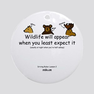 Wildlife Ornament (Round)