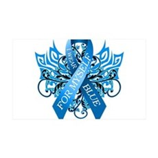 I Wear Blue for Myself Wall Decal
