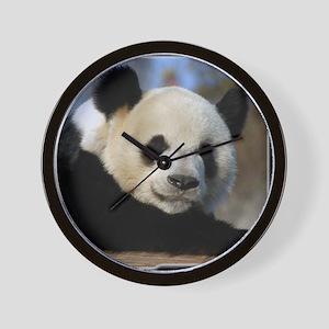 Giant Panda Bear 25 Wall Clock