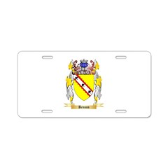 Benson Aluminum License Plate