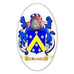 Benson (Dublin) Sticker (Oval 10 pk)