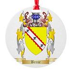 Bense Round Ornament