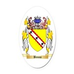 Benns Oval Car Magnet