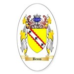 Benns Sticker (Oval 50 pk)