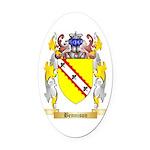 Bennison Oval Car Magnet