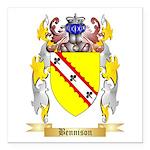 Bennison Square Car Magnet 3