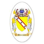 Bennison Sticker (Oval)