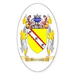 Bennison Sticker (Oval 50 pk)