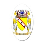 Bennison 35x21 Oval Wall Decal