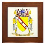 Bennison Framed Tile