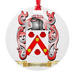 Bennington Round Ornament