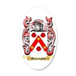 Bennington Oval Car Magnet