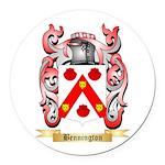 Bennington Round Car Magnet