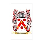 Bennington Sticker (Rectangle 10 pk)