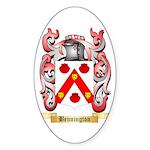 Bennington Sticker (Oval 10 pk)