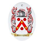 Bennington Ornament (Oval)