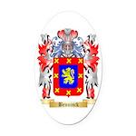 Benninck Oval Car Magnet
