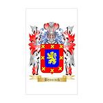 Benninck Sticker (Rectangle)
