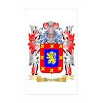 Benninck Sticker (Rectangle 10 pk)