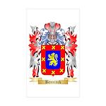 Benninck Sticker (Rectangle 50 pk)